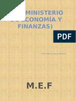 Ministerio de Economia y Finanzas -Perú