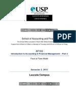 AF102 Course Outline