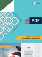 Brochure of UEF Trade Summit - 2015
