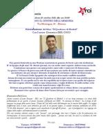 Volantino Il Quaderno Di Madrid - Domenico Del Coco