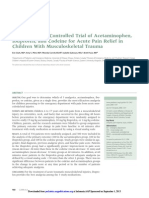 RCT Acetaminophen 1