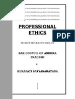professional ethics case