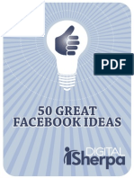 50 Ways to Increase Facebook Fan Engagement
