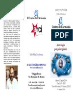 Brochure Corso Di Astrologia Per Principianti