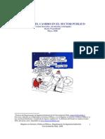 Gestión del Cambio en El Sector Público