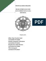 Proposal Kerja Praktik (PT Badranaya Putra)