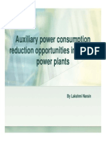 Lakshmi Narain NTPC Aux Power Consumption Reduction