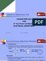 Machines EPM405A Presentation 05