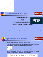 Machines EPM405A Presentation 06