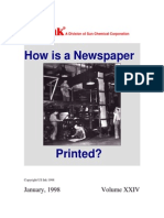 How is a Newspaper Printed