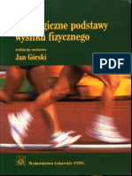 Fizjologiczne Podstawy Wysilku Fizycznego - Jan Gorski