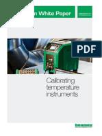 Calibrating Temperature Instruments