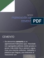3.- Fabricación Del Cemento