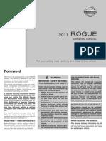2011 Nissan Rogue Manual