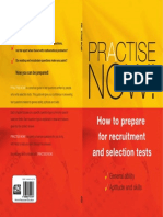 Practice Now-How to Prepare for Recruitment and Selection Test