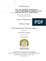 Review of Finite Element Analysis of Universal Joint and Propeller Shaft Assembly