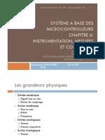 Sbmc Chapitre 6 - Instrumentation Et Mesures