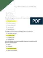 All NBDE Questions 2008