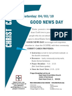 Good News Day Flier