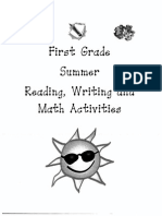 First Grade Summer Packet