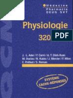 Physiologie - 320 QCM