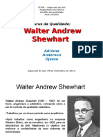 Trabalho sobre Walter Shewart