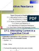 Chapter 17 Capacitive Reactance