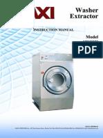 Tài liệu lắp đặt máy giặt vắt công nghiệp MWHE