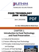 Chapter 1 Introduction to Food Technology