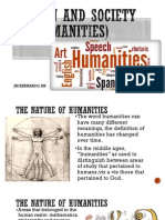 1.the Nature of Humanities