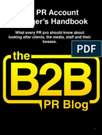 PR Account Manager's Handbook