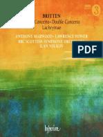 Britten - Violin Concerto, Double Concerto, Lachrymae