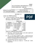 Financial Accounting Sec b