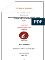 Project Report on Technical Analysis