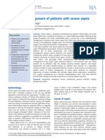Journal Penatalaksanaan Anestesi Sepsis Berat