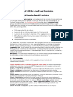 Resumen de Derecho Penal III Económico Unidad 1 y 2