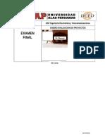 Examen Final-2015-2A-I Diseño Evaluacion de Proyectos