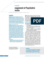 The Management of Psychiatric