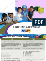 2. Listening & Speaking Year 6 KSSR ENGLISH 2015