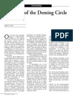 Deming Circle