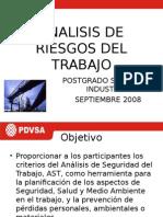 Analisis de Riesgo de Trabajo Postgrado Sept2008