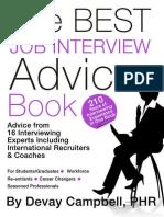 The Best Job Interview Book