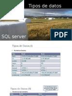 Tipos de Datos_sqlServer