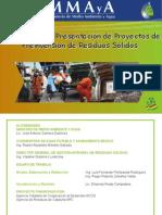 Proyectos de Pre-Inversión de Residuos Sólidos