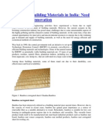 Innovative Building Materials in India