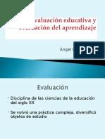 Evaluacion Educativa y Del Aprendizaje
