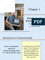 Chapter 1 PowerPoint Slides to Entrepreneurship Successfully Launching New Ventures