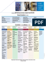 Flexible Mba Curriculum Grid