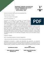 iNSTRUMENTO DE EVALUACION DIAGNOSTICA