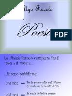 Foscolo Sonetti